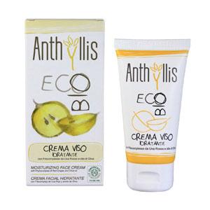 crema hidratante facial de la marca anthyllis