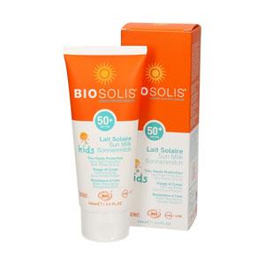 leche solar para niños protección 50 de biosolis