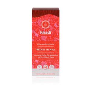 henna pura de la marca khadi