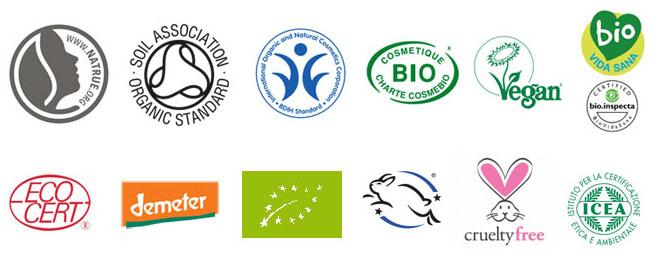 Certificaciones Cosmética Natural y Sellos Ecológicos